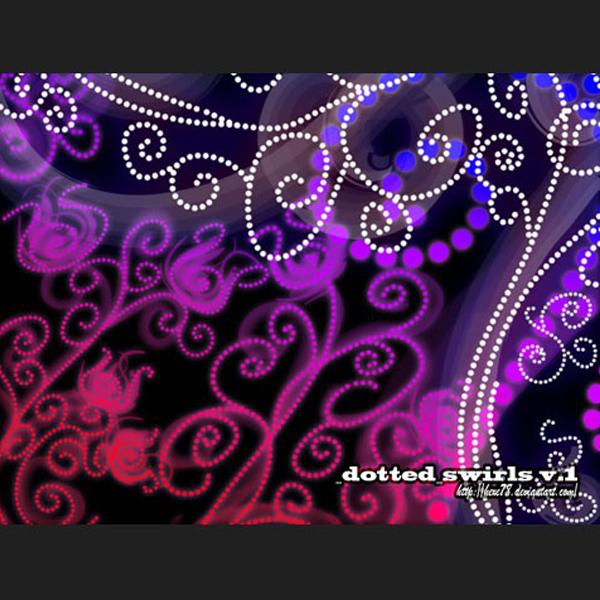 Dotted Swirls v1