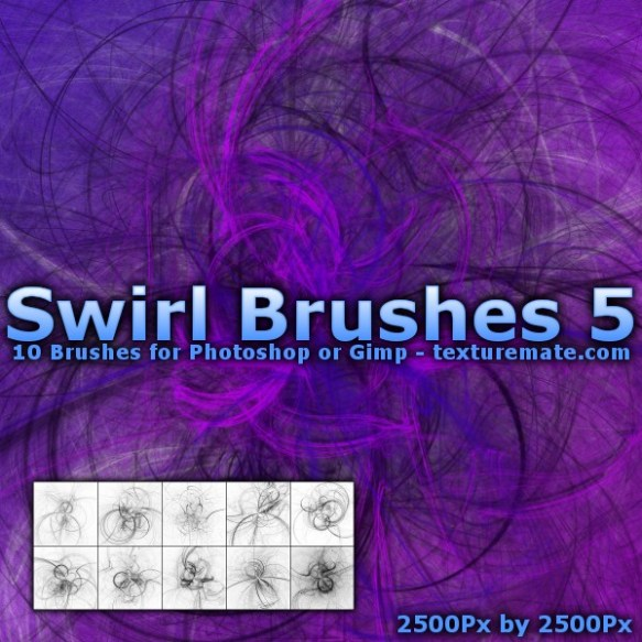 Swirl Brushes 5