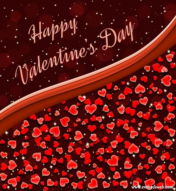 Hearts Valentine's Day Card Tutorial in Photoshop