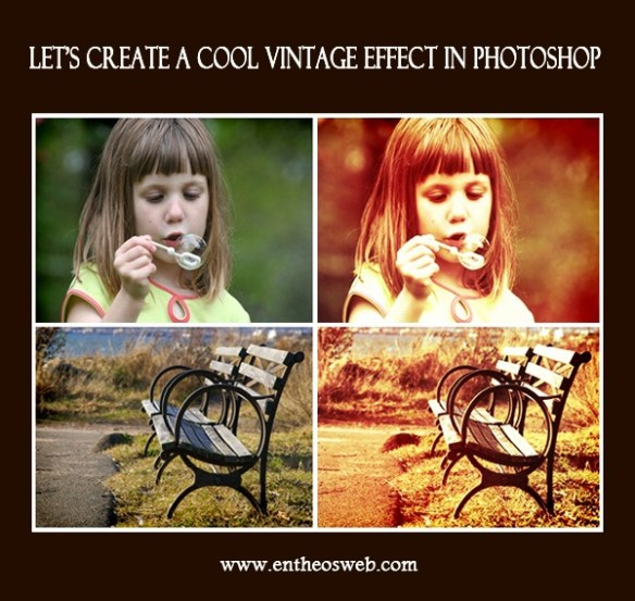 Vintage Image Effect Tutorial in Photoshop