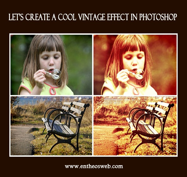 Vintage Image Effect Tutorial in Photoshop