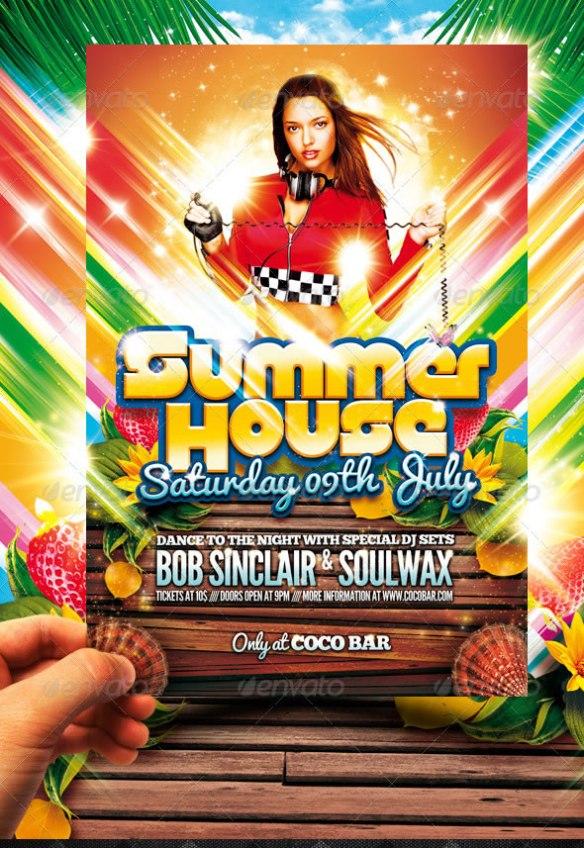Spring Break Flyer / Summer House