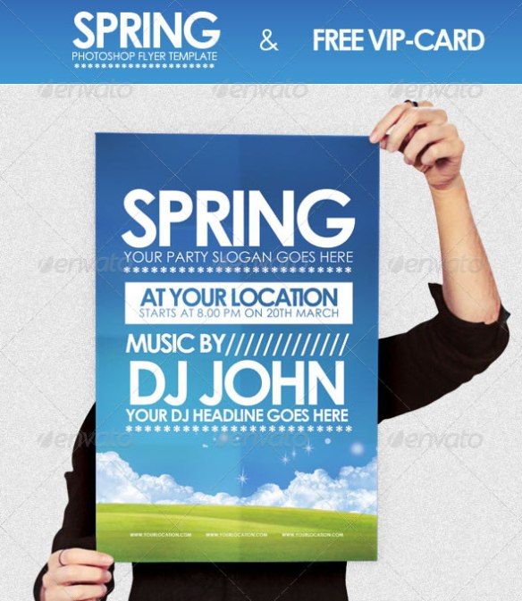 Spring - Flyer Template