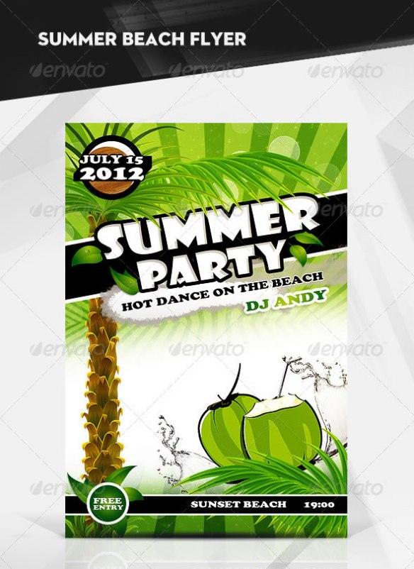 Summer Beach Party / Flyer
