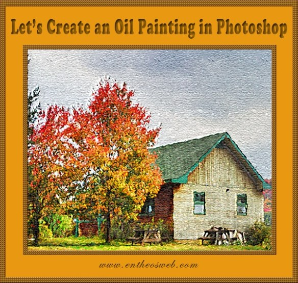 Oil Painting Effect in Photoshop