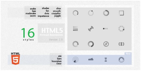 HTML5 Preload Animations