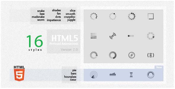 HTML5 Preload Animations