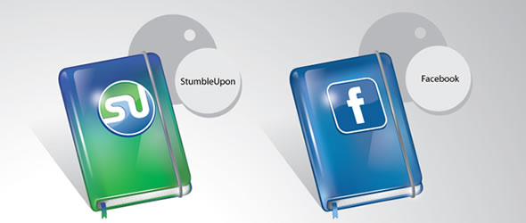 Free Social Moleskin Icon Set For Bloggers And Designers