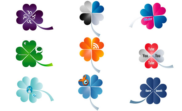 Clover Social Icons