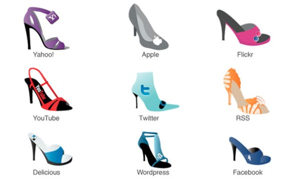 Shoe Frenzy Social Icons