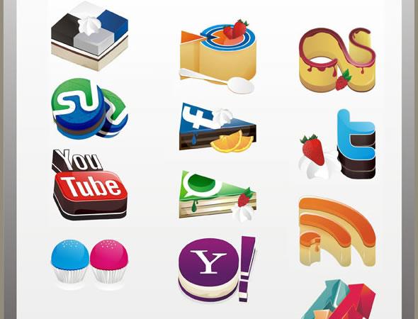 Yammy Social Media Icons Set