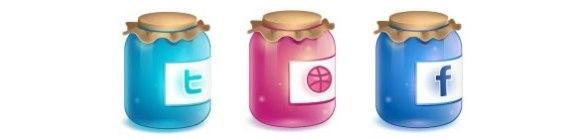 Iconset: Twitter Jar Icons