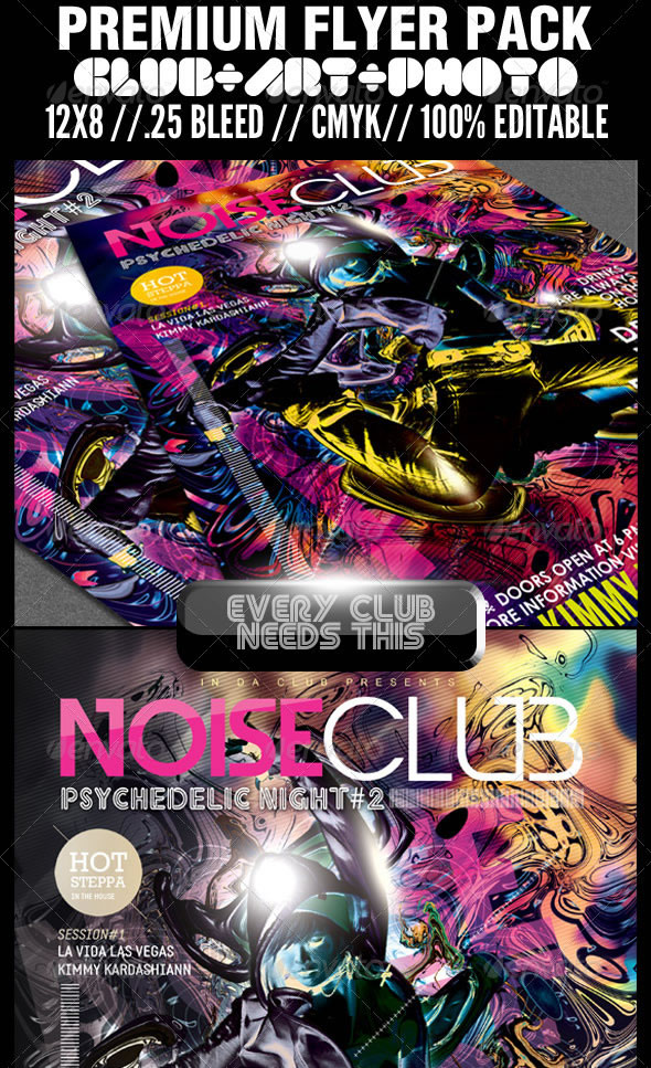 Club, Art & Photography Premium Flyer Template