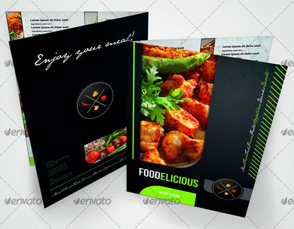 RW Foodelicious Modern Restaurant Menu Template