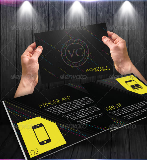 Event & Marketing Portfolio Brochure/Catalogue