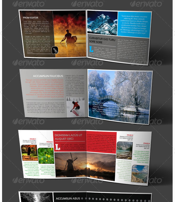 Natulife Booklet - Catalogue Template