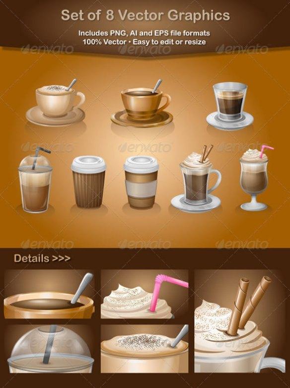 Coffee Vector Graphics