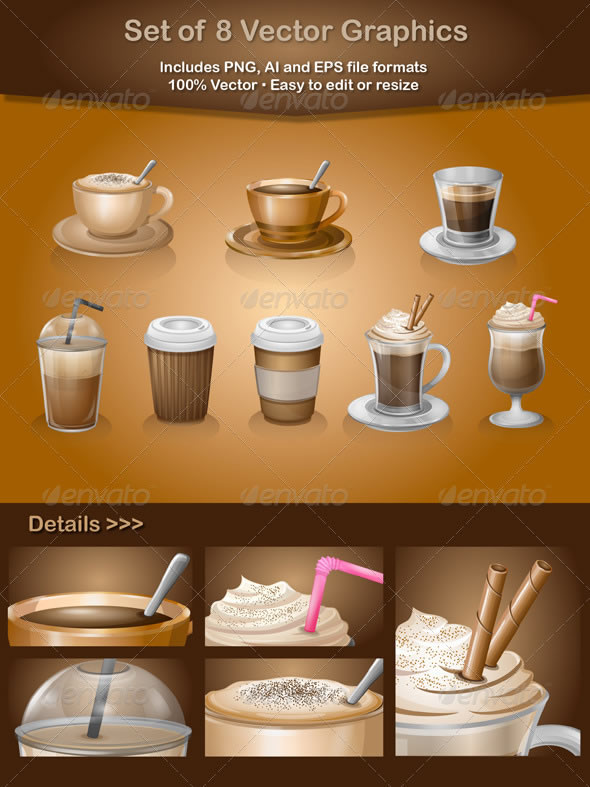 Coffee Vector Graphics