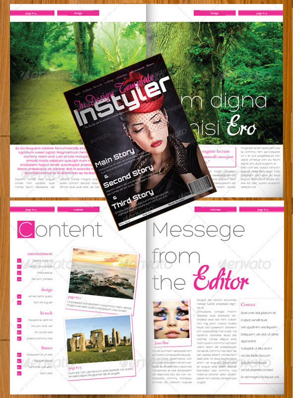 InStyler – InDesign A4 Magazine
