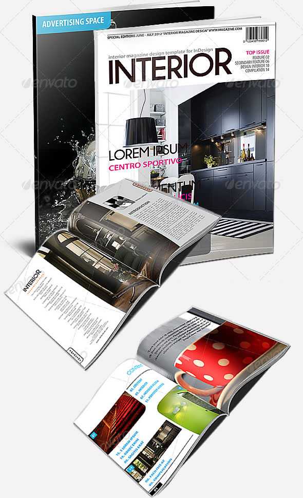 Exclusive Magazine Template
