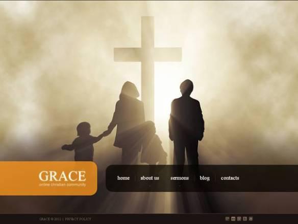 Grace Church Joomla Template