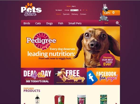 Pets Store PrestaShop Theme