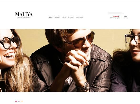 Maliya Clothes PrestaShop Theme