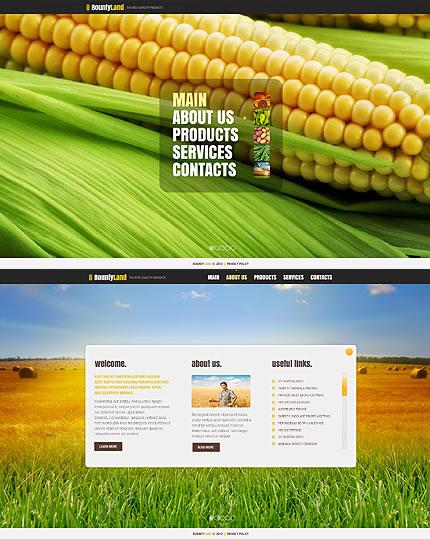 Bounty Land Website Template