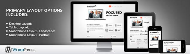 Laptop Design Responsive Business WordPress Theme