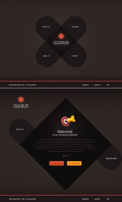 Globus Business Website Template