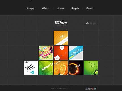 Whim Design Website
