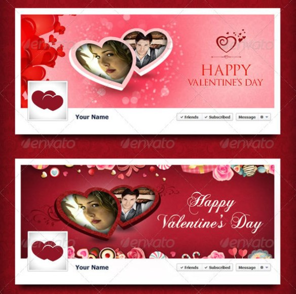 Valentine's Day Timeline Cover