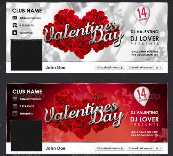 Fb Valentines Timeline