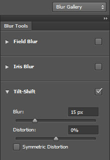 Tilt Shift