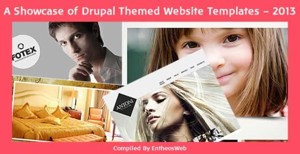 A Showcase of Drupal Themed Website Templates - 2013