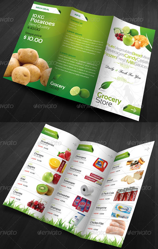 Creative Tri Fold Brochure Design Templates EntheosWeb