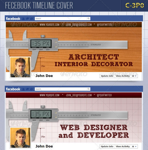 Caliper Facebook Timeline Cover