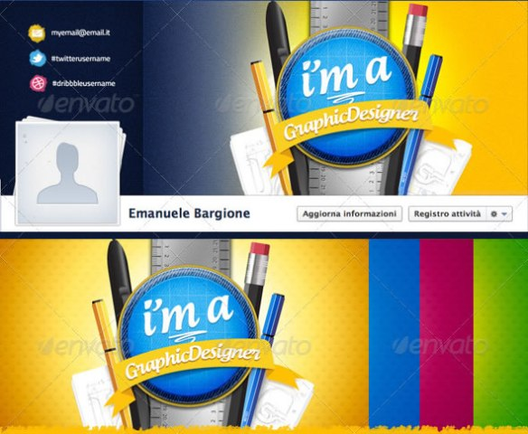GraphicDesigner - Facebook Timeline Cover