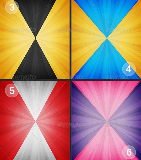 Sun Bursts Backgrounds V.1