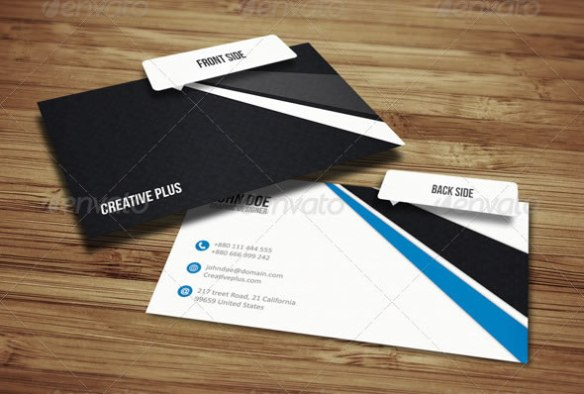 Corpoaret Business Card 16