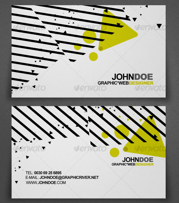Abstract Design Business Card