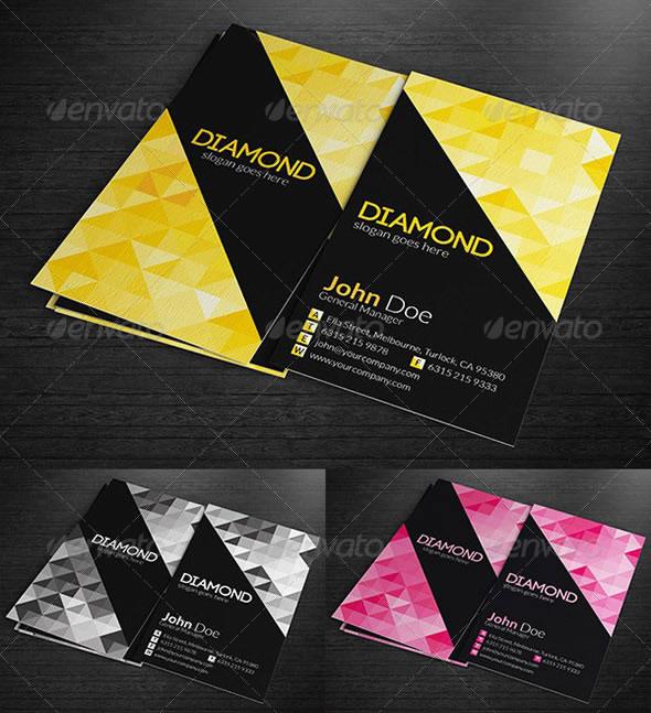 Creative Abstract Business Card Designs Entheos