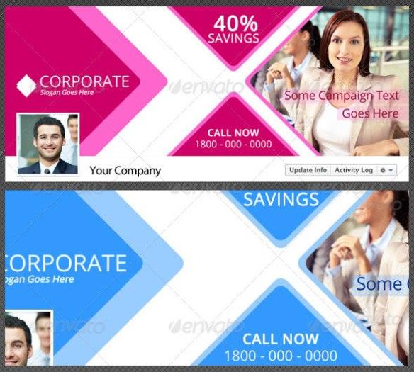Creative Corporate Facebook Timeline Cover Vol 1