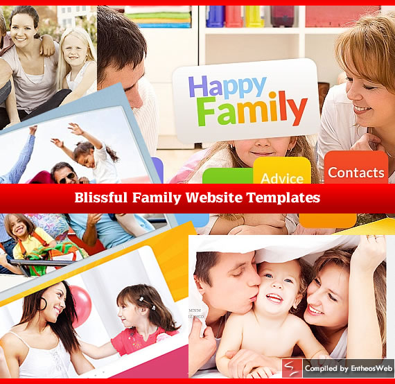 Blissful Family Website Templates