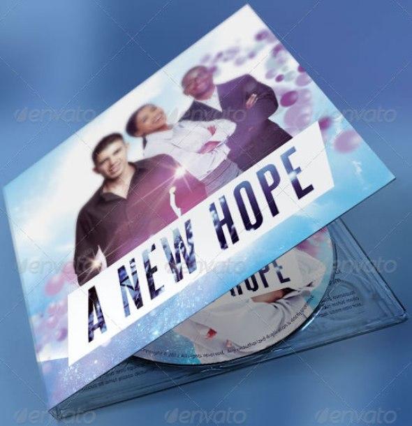 A New Hope Digipack CD Artwork Template