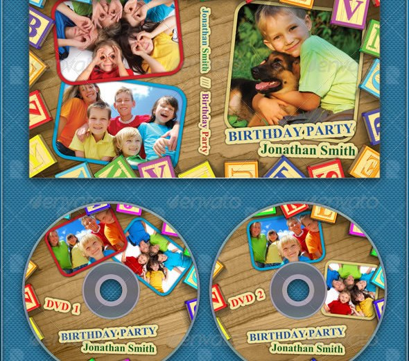 Kids DVD Cover