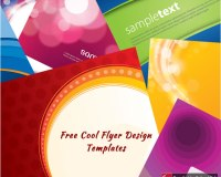 Free Cool Flyer Design Templates