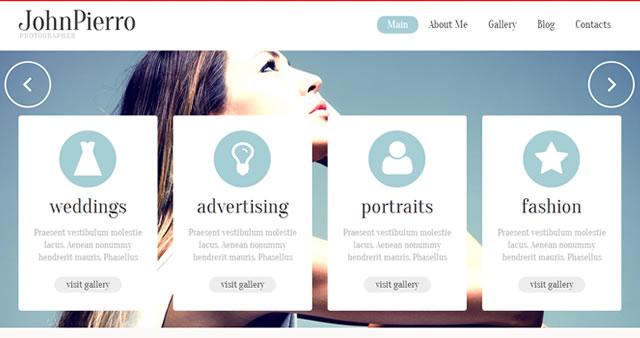 Template 45886 - John Pierro Responsive WordPress Theme