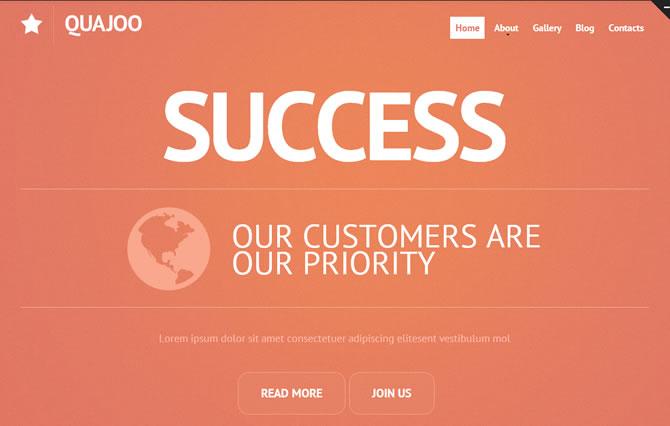 Template 45869 - Success Business Responsive Website Template