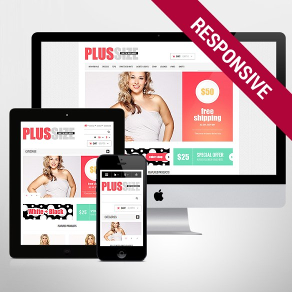 Template 47502 - Plus Size Responsive PrestaShop Theme
